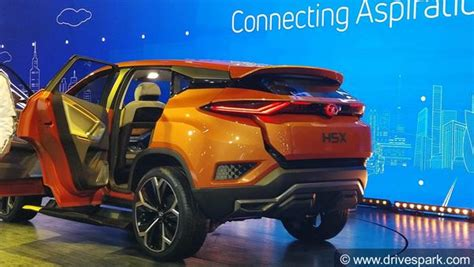 speed boat price in india tata harrier aka h5x concept specifications features