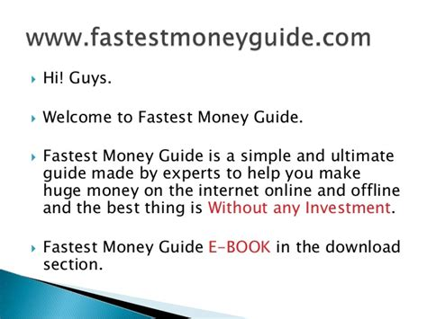 How To Make Money Illegally Online - how to make money fast illegally