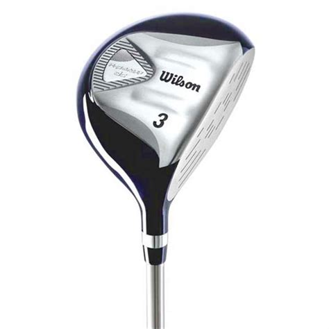 wilson golf dc prostaff steel fairway woods  sports hq