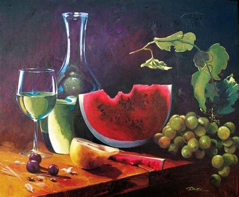 imagenes de uvas en oleo bodegon de vino uvas y sand 237 a chema daza prieto