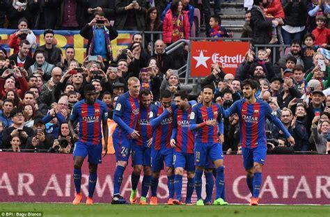 barcelona liga spanyol hasil liga spanyol barcelona bungkam athletic bilbao 3 0