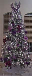 purple christmas tree decorating ideas purple christmas