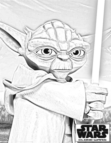 lego yoda coloring pages clone wars coloring pages clone wars yoda 2 cartoon jr