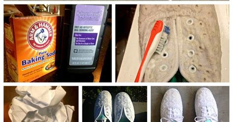 how to clean white shoes with baking soda how to clean white keds or sneakers 1 mix hydrogen