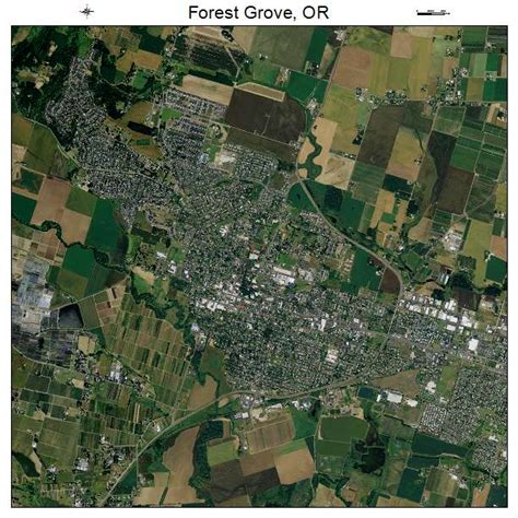 forest grove oregon map aerial photography map of forest grove or oregon