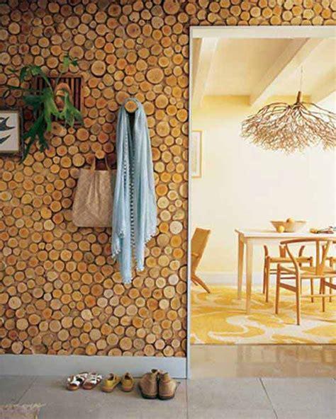 wood decor 40 diy log ideas take rustic decor to your home amazing