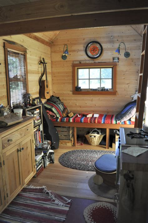 Weekend Cabin Plans by File Tiny House Interior Portland Jpg Wikimedia Commons