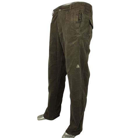 mens nike acg cords corduroy trousers waist size 28