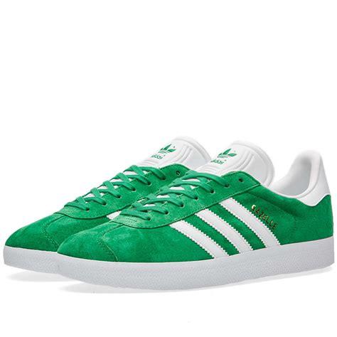 Adidas Gazelle 2 0 Green White adidas gazelle green white