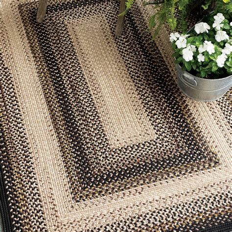 outdoor braided rugs buy black mist outdoor braided rugs homespice