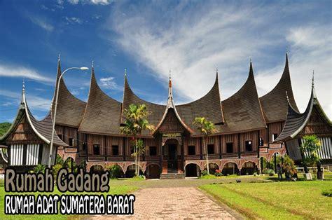 rumah adat sumatera barat deweezz