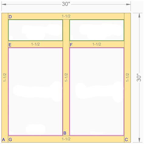 kitchen cabinet face frame dimensions standard cabinet face frames prism paints custom prism
