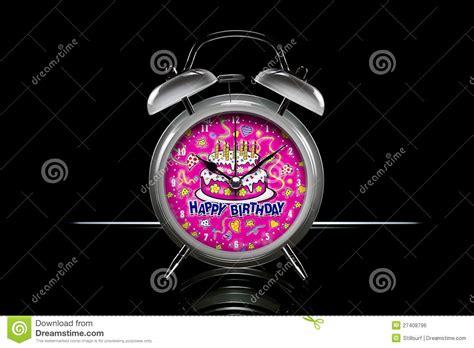happy birthday alarm clock stock photo image of children 27408796