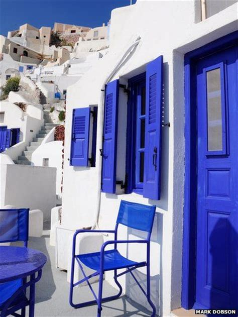 blue and white house your pictures greece cobalt blue santorini greece and