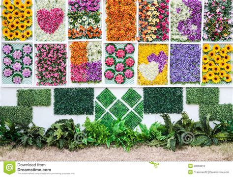 Vertical Flower Garden Vertical Flower Garden Stock Photography Image 30668812