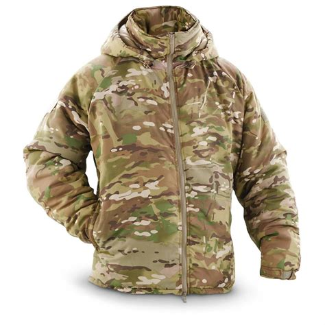 Jaket Army u s surplus primaloft hooded jacket new