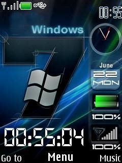 microsoft mobile themes free download download windows se7en nokia theme mobile toones
