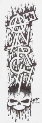anarchy tattoos designs sons of anarchy symbol sons of anarchy outline