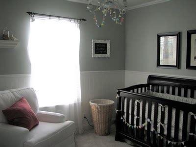 baby nursery silver paint color design dazzle