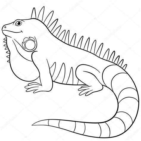 imagenes para pintar iguana iguana imagenes para colorear reptile gallery