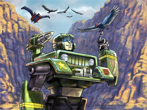 Transformers Hound At The Grand Canyon By Wolfwhiskers On