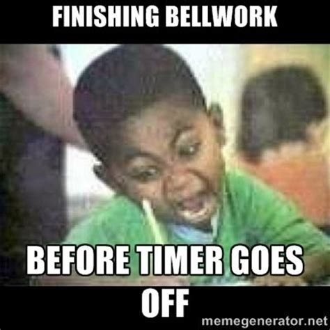 Black Kid Memes - black kid coloring finishing bellwork before timer goes