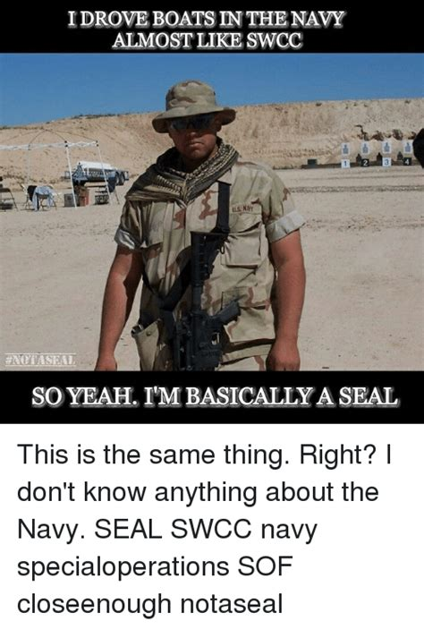 Navy Seal Meme - 25 best memes about seals swcc seals swcc memes