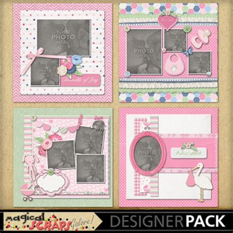 welcome page templates the gallery for gt baby scrapbook page templates