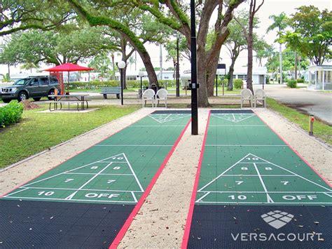 backyard shuffleboard court shuffleboard courts wouldn t it be nice pinterest