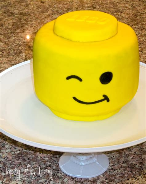 lego head tutorial lego head birthday cake ashlee marie