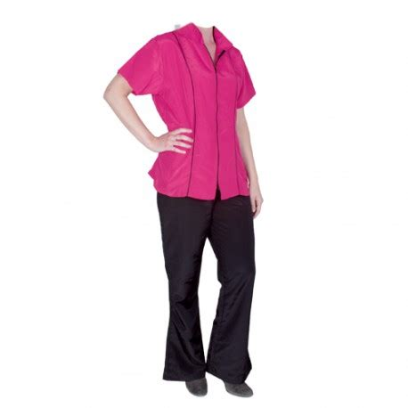 Jaket Angela Pink Black Grey quot angela quot pink sleeved overall chadog corporate