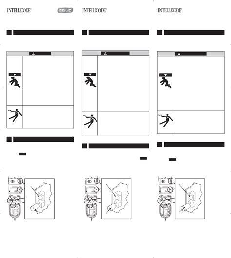 genie overhead door opener wiring diagrams genie door