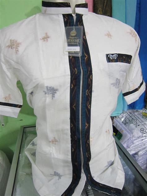 Baju Koko Bapak Anak Baju Muslim Lengan Pendek Kriswanto baju koko model jas resmi busana muslim pria toko busana