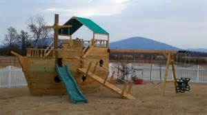pirate boat swing pirate ship swing set for the home pinterest the o
