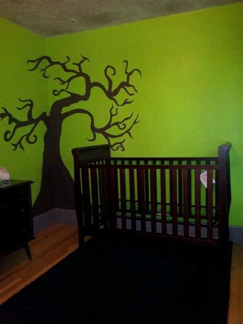nightmare before baby room my nightmare before inspired nursery bug s board trees nightmare