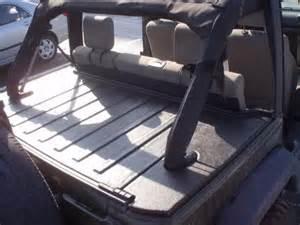 Diy Jeep Tonneau Cover Deck Lid Security Enclosure Jkowners Jeep