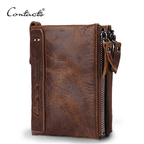 Cowather Brand Vintage Design 100 Genuine Leather Dompet Pria Impor small mens wallets reviews shopping small mens