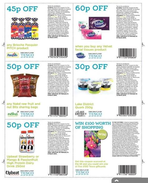 free printable grocery coupons uk 2015 new tesco magazine is out now with the following coupons