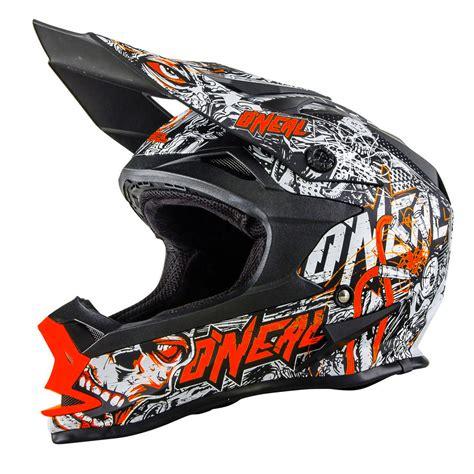neon motocross oneal new 2017 mx 7 series menace matte neon orange