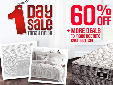 Sears Mattress Locations by Sears Canada One Day Sale Mattresses Bedding 60