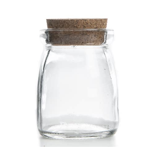 Decorative Glass Containers by Small Corked Clear Glass Jar Decorative Containers