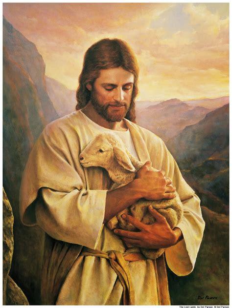 imagenes de jesus con un cordero ideas para orar cristo el hombre nuevo