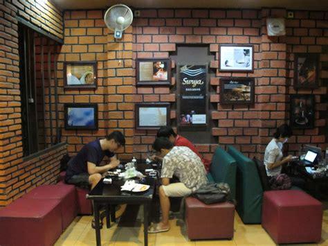 desain dapur kopi minimalis desain warung kopi bambu desain rumah warung makan lesehan