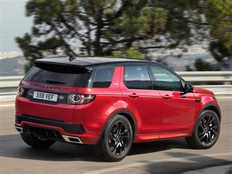 blue land rover discovery 2017 2017 land rover discovery sport gains visual and