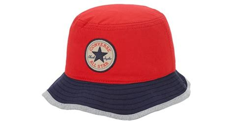 Topi Cap Converse Navy Black Hat converse hat in blue for lyst
