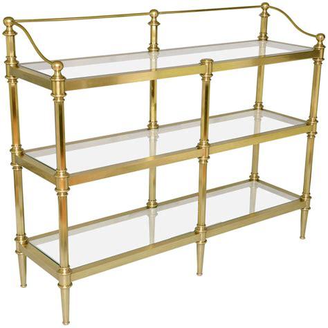 etagere bar brass etagere at 1stdibs