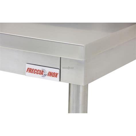 ripiani per tavoli tavolo gambe tonde inox con ripiano e alzatina l1800
