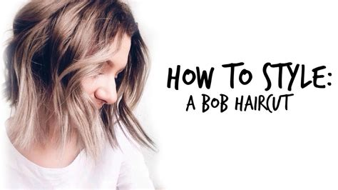 how to create messy bob how to style bob haircuts messy chic bob youtube