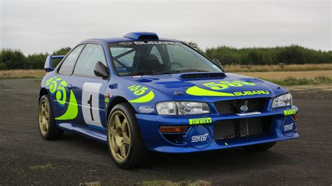 subaru impreza wrc for sale colin mcrae s iconic wrc subaru for sale motoring research