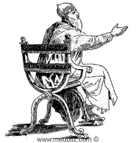 chaise curule d 233 finition d une chaise curule si 232 ge et du moyen 226 ge